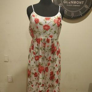 ModCloth Rose Tulle Dress